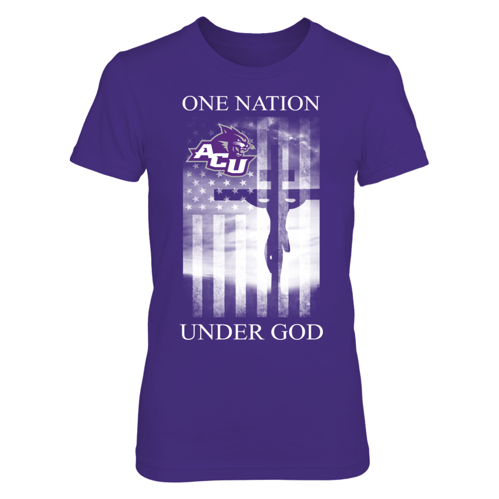 Abilene Christian Wildcats Abilene Christian Wildcats - One Nation Under God FanPrint