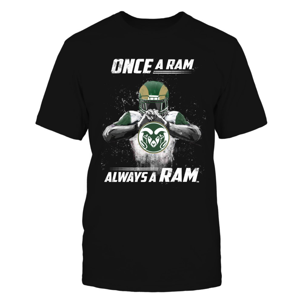 Colorado State Rams - Once a Ram Always a Ram Front picture