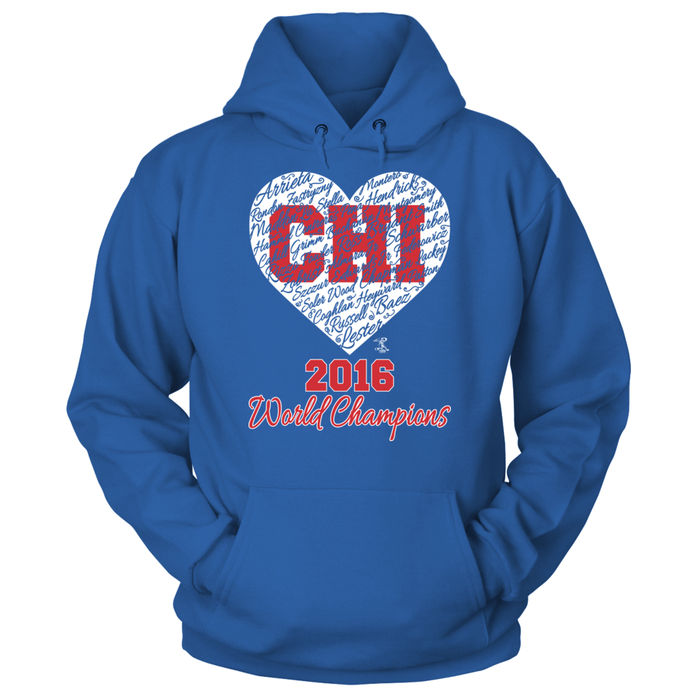 CHI City Heart (2016 World Champion)  - Anthony Rizzo Front picture