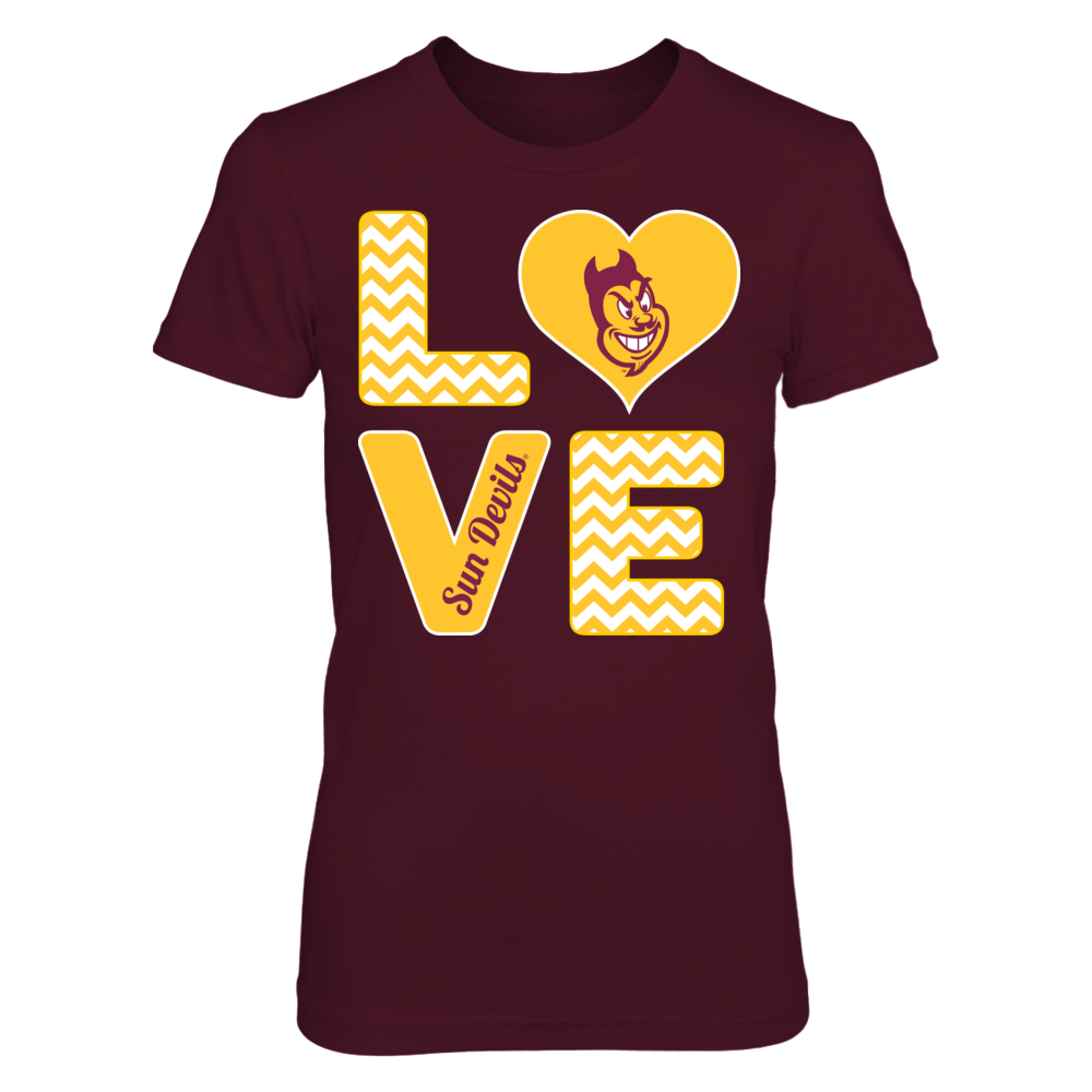 Stacked Love - Arizona State Sun Devils Front picture