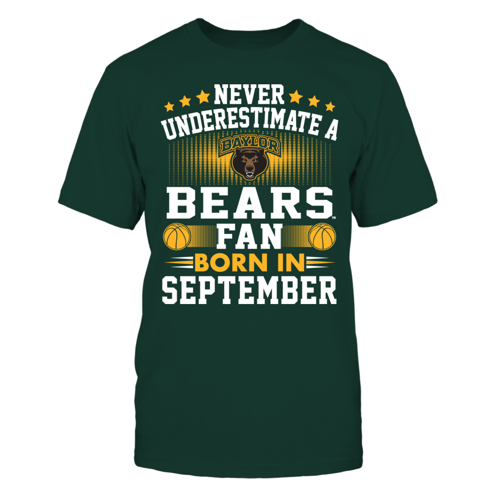 Baylor Bears Baylor Bears - Fan Born In September FanPrint
