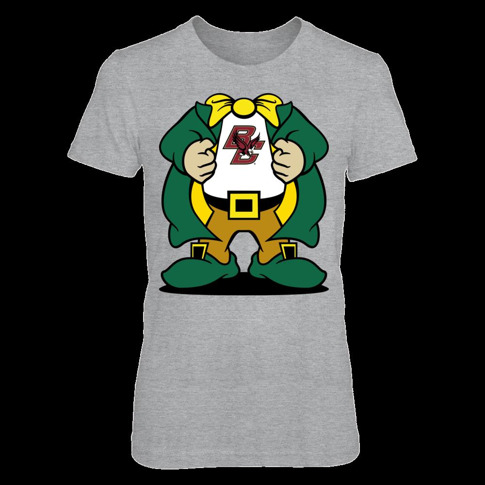 Boston College Eagles - Super Leprechaun Logo Front picture