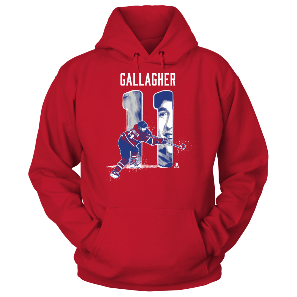 Player Number - Brendan Gallagher Front picture