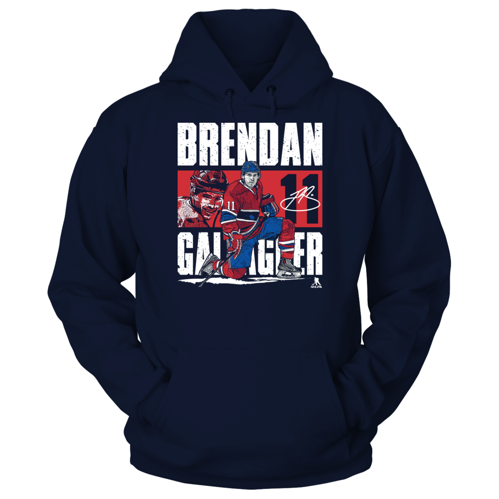 Brendan Gallagher Brendan Gallagher - Player Portrait FanPrint