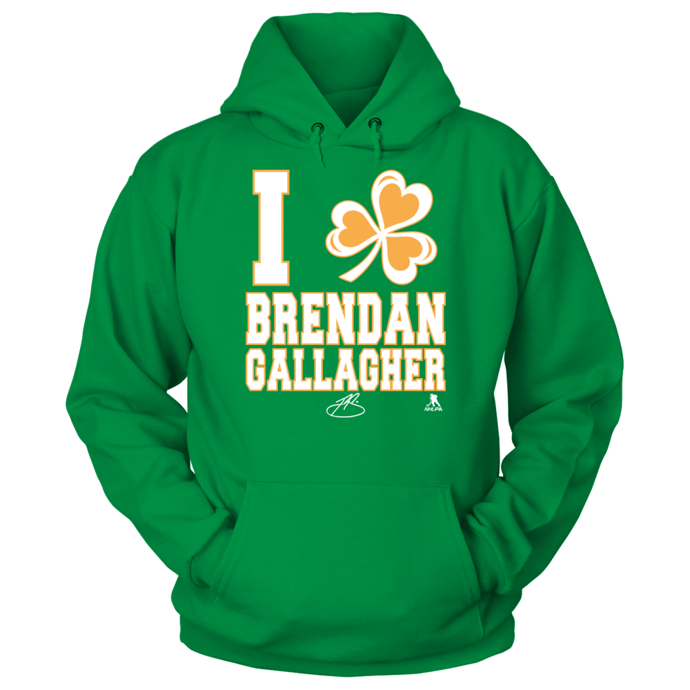 Brendan Gallagher - I Shamrock Front picture