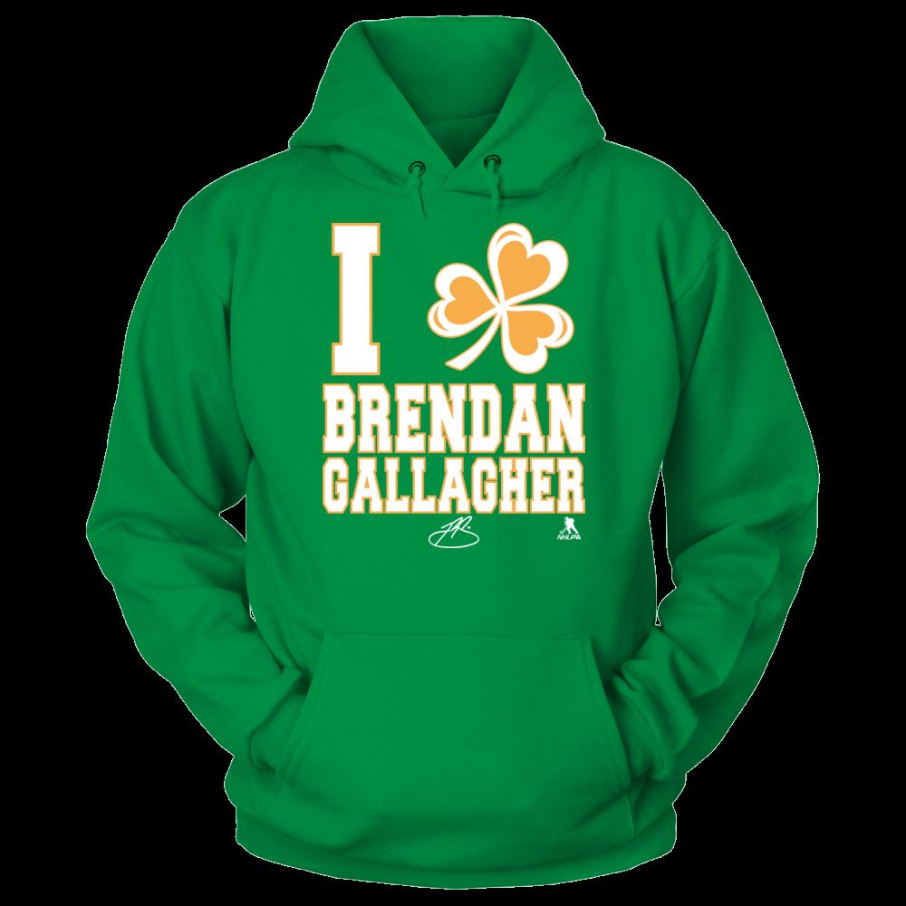 Brendan Gallagher Brendan Gallagher - I Shamrock FanPrint