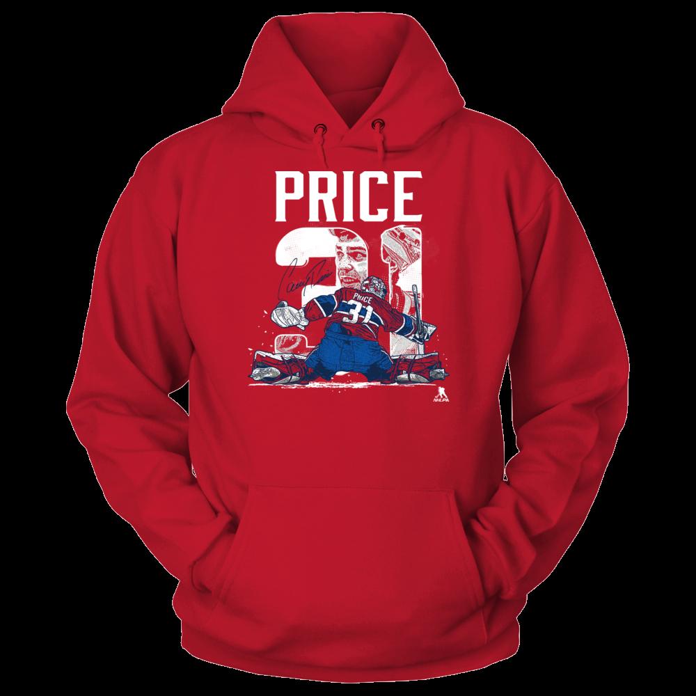 Carey Price Carey Price - Player Number FanPrint