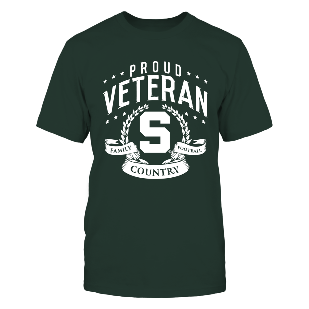 Proud Veteran Michigan State Front picture