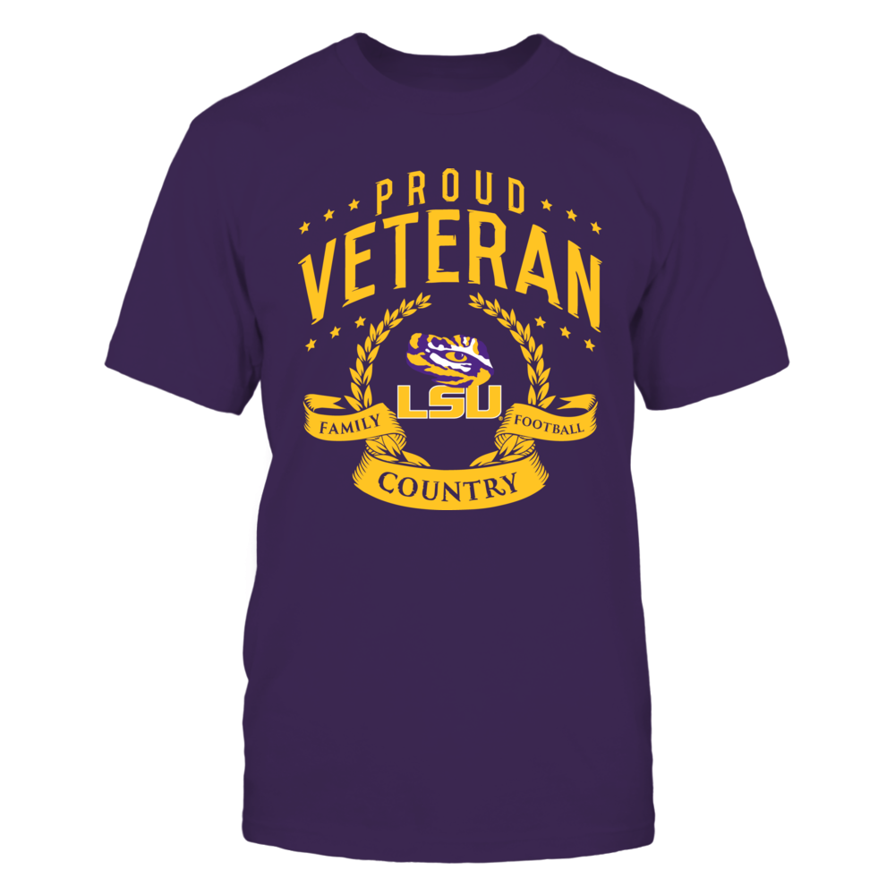 Proud Veteran LSU Front picture