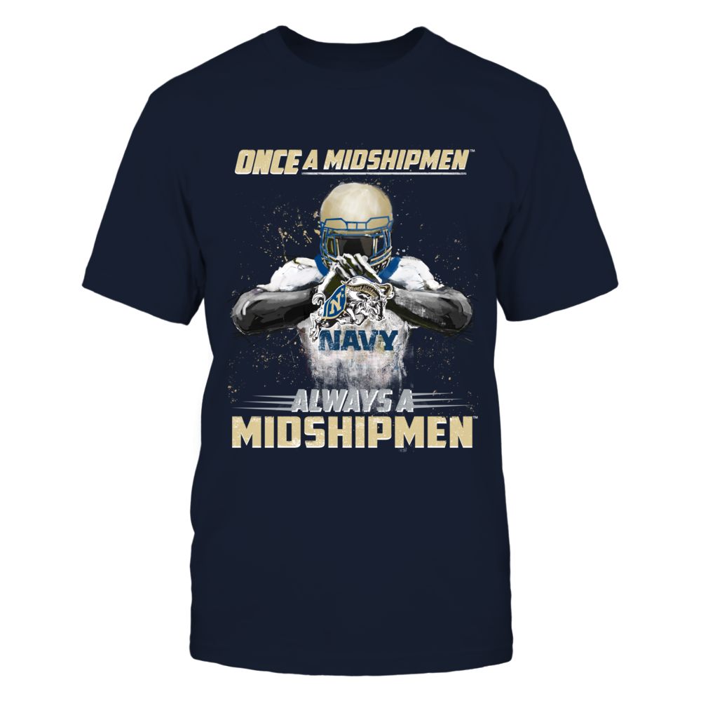 Navy Midshipmens - Once a Midshipmen, Always a Midshipmen Front picture