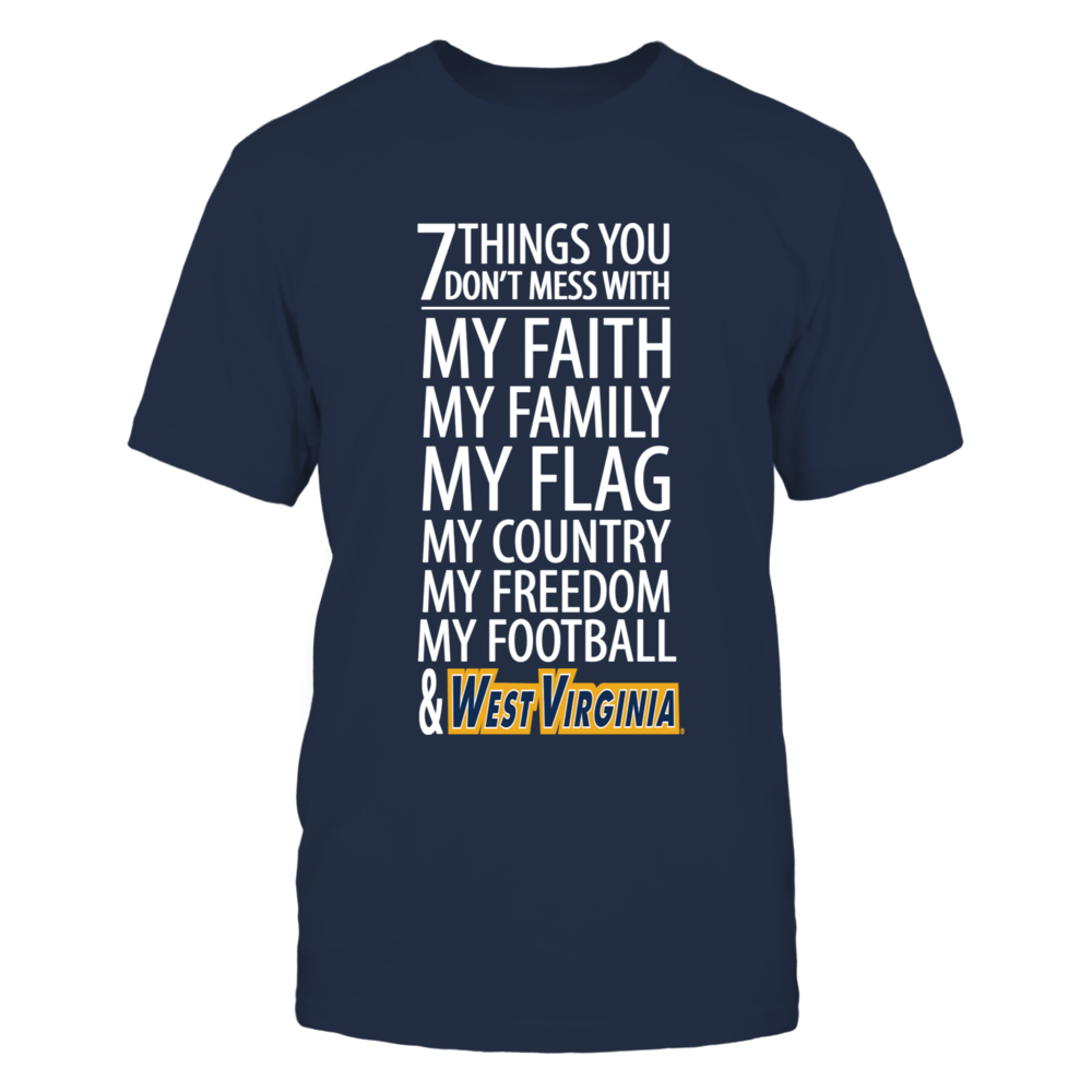 West Virginia Mountaineers Don't Mess With West Virginia FanPrint