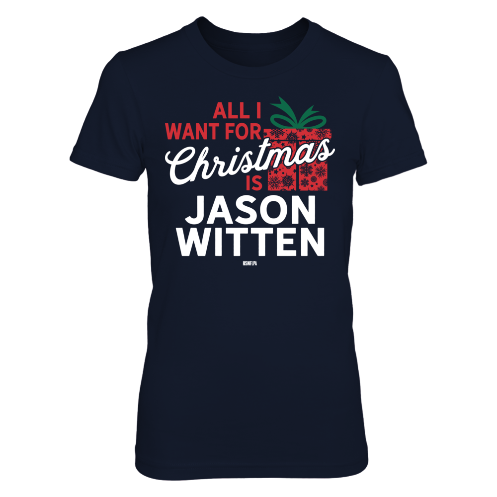 Jason Witten - All I Want For Christmas Front picture