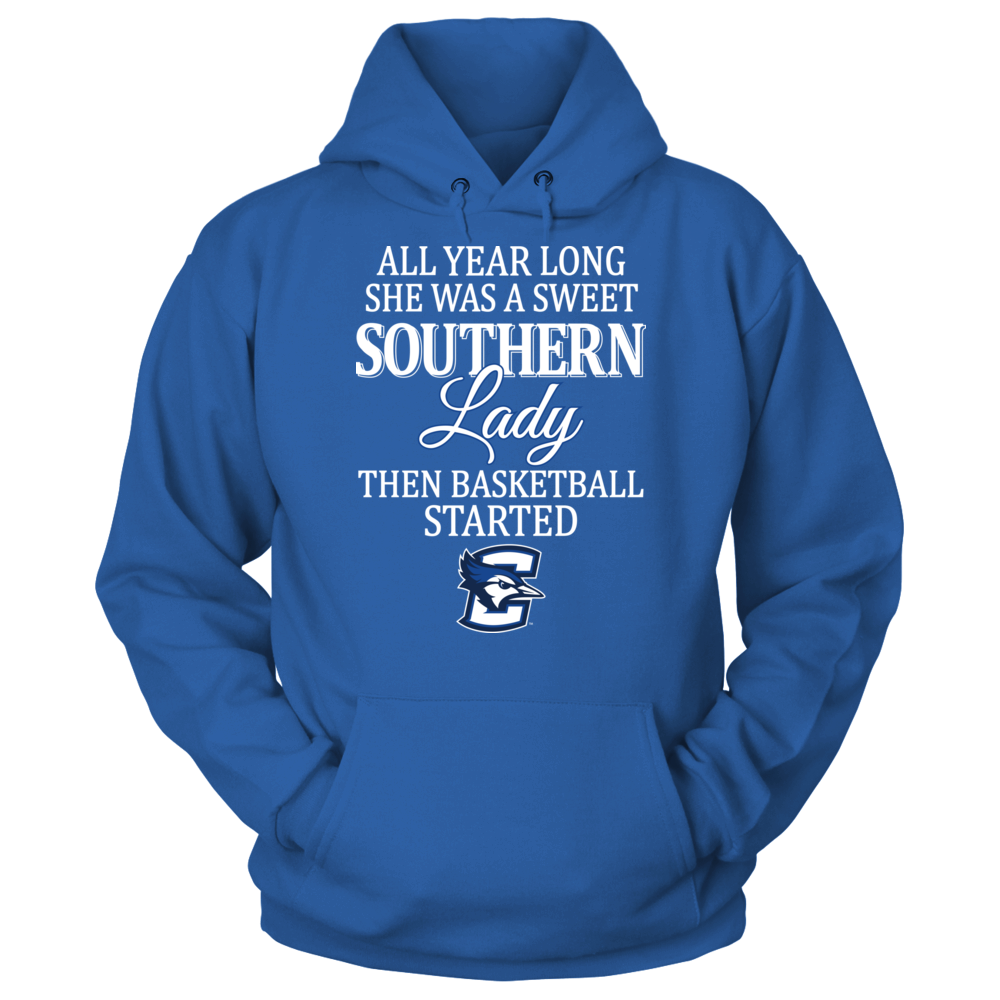 Creighton Bluejays Creighton Bluejays - Sweet Southern Lady Basketball FanPrint