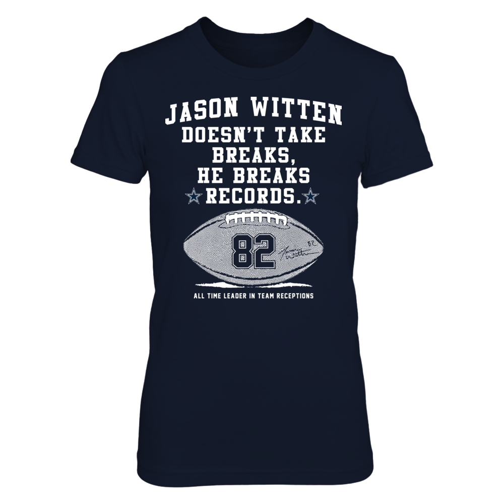Jason Witten - Breaks Records Front picture