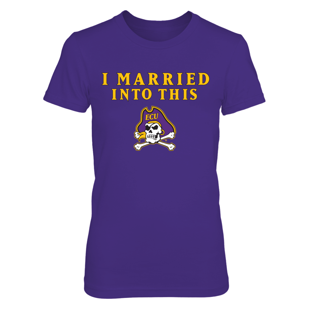East Carolina Pirates East Carolina Pirates - I Married Into This FanPrint