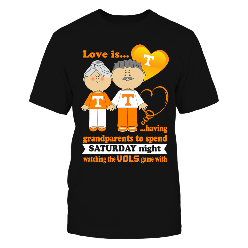 Tennessee Volunteers - Love Is Grandparents Front picture
