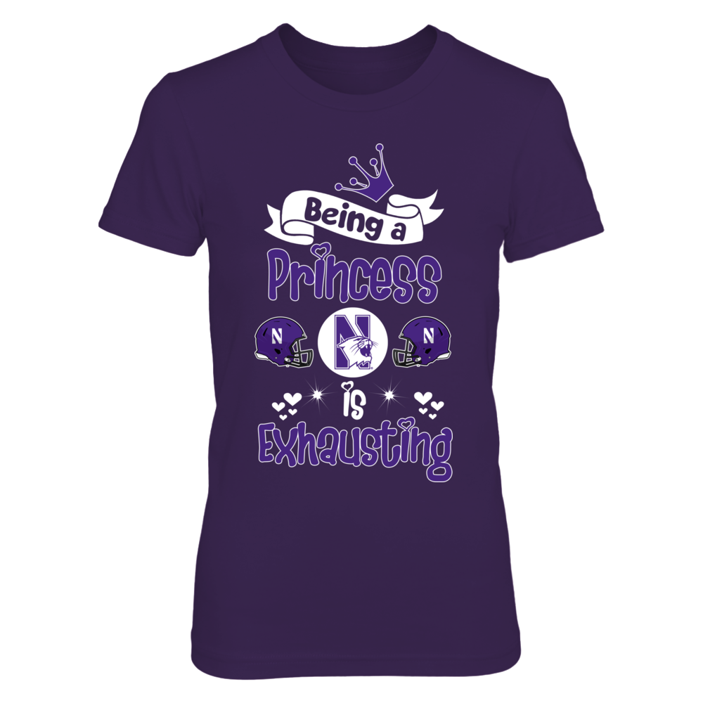 Northwestern Wildcats Northwestern Princess FanPrint