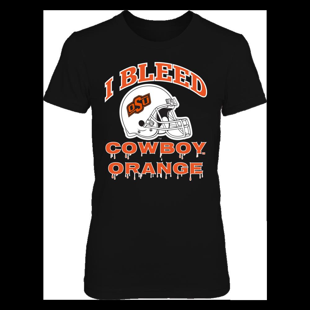 Oklahoma State Cowboys I Bleed OSU Cowboys Orange! FanPrint