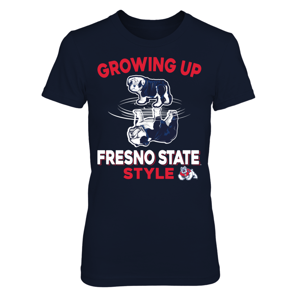 Fresno Bulldogs - Growing Up School Style Front picture