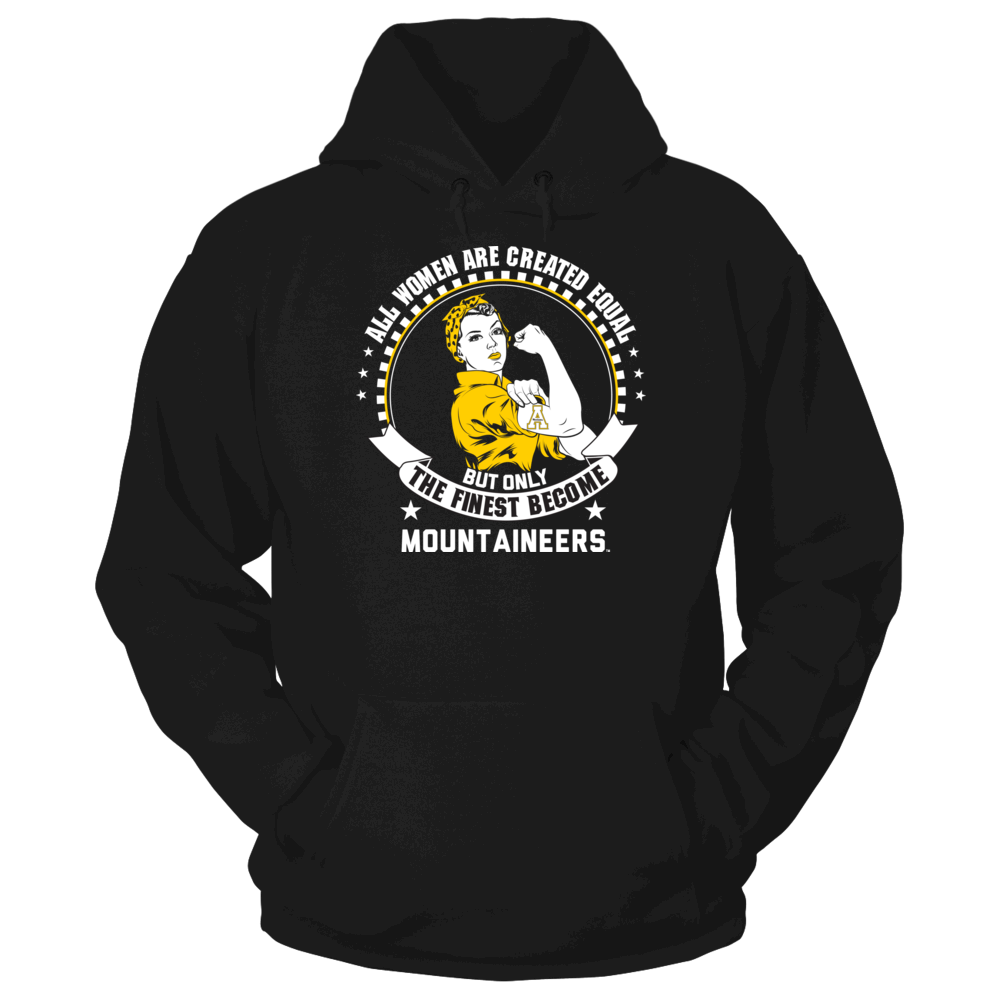 Appalachian State Mountaineers Appalachian State Mountaineers - All Women Are Created Equal FanPrint