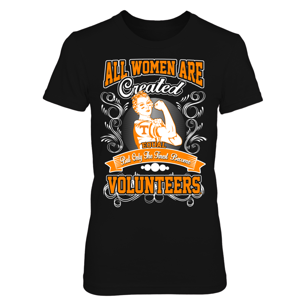 Tennessee Volunteers - Women Are Created Equal Front picture