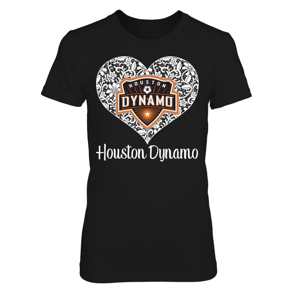 Lace Logo - Houston Dynamo Front picture