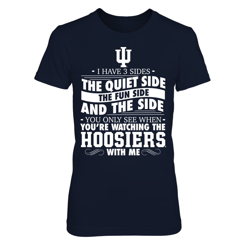 I Have 3 Sides - Indiana Hoosiers Front picture