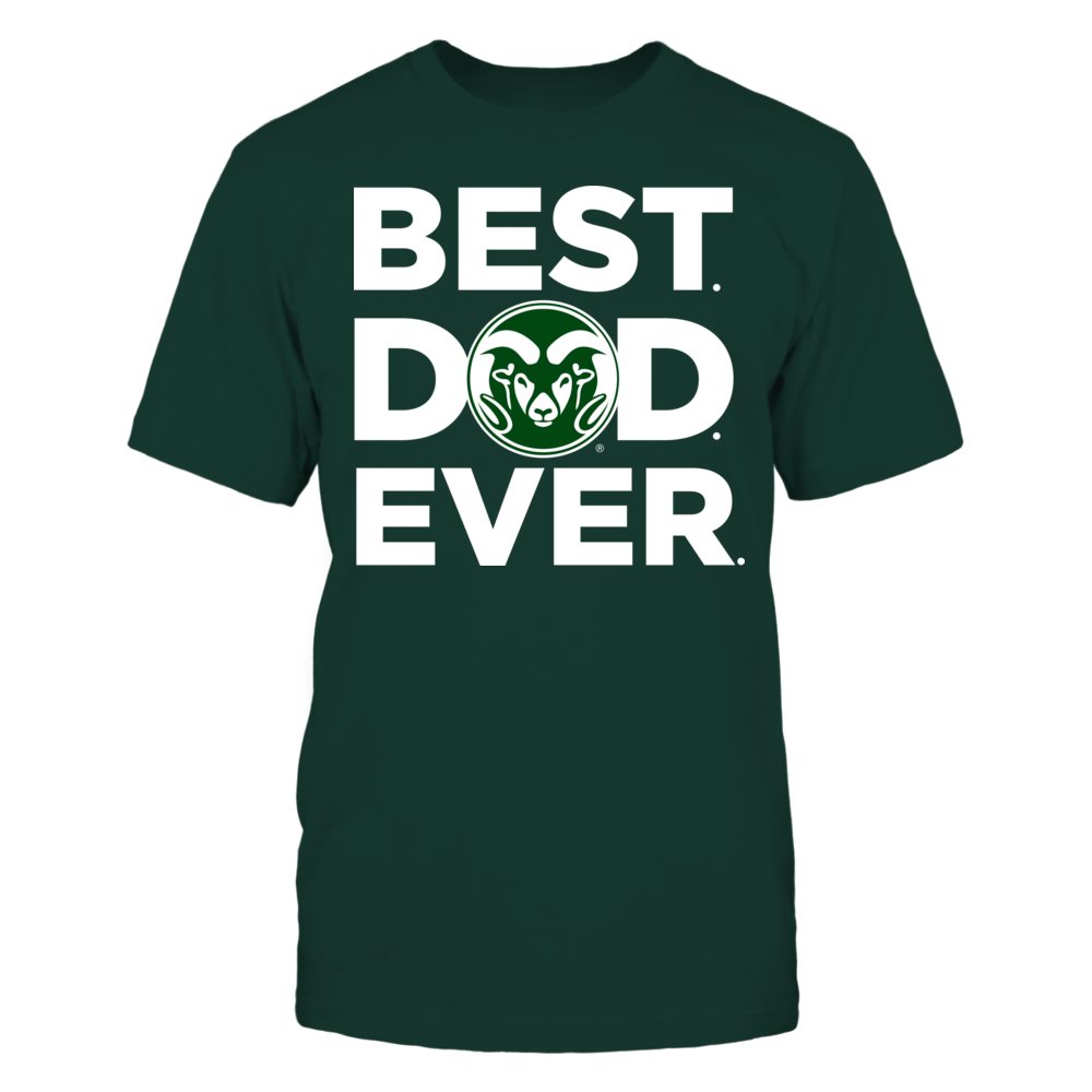 Colorado State Rams - Best Dad Ever Front picture