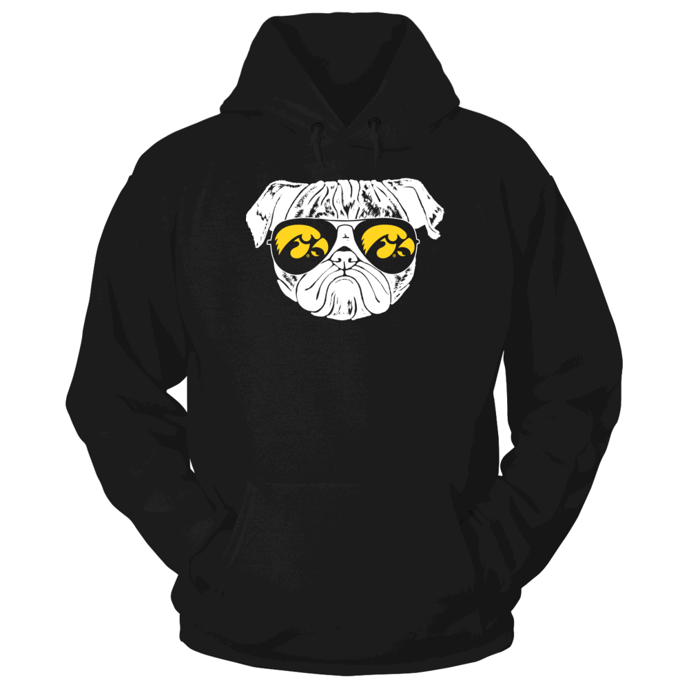 Iowa Hawkeyes Pug Life - Iowa Hawkeyes FanPrint