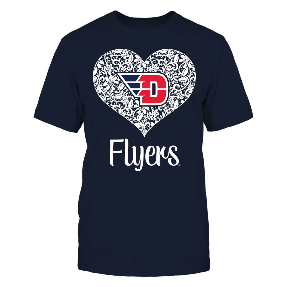 Dayton Flyers - Lace Heart Logo Front picture