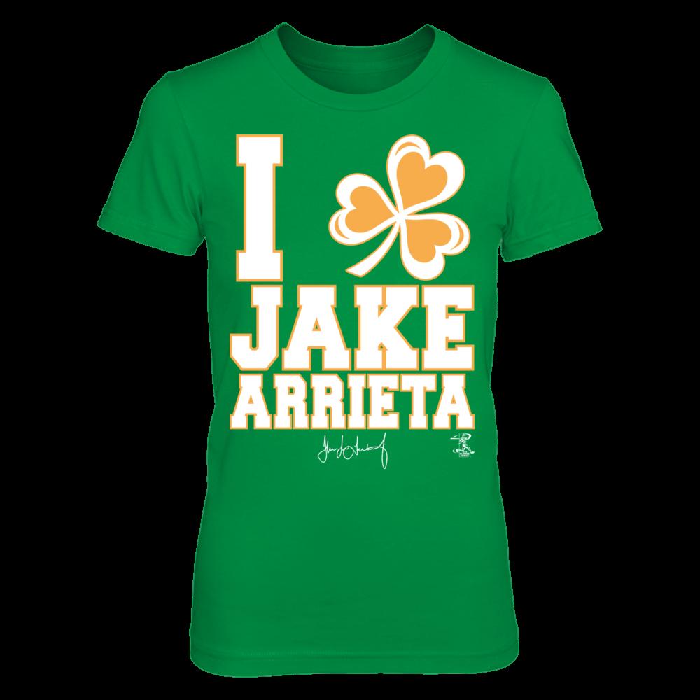 Jake Arrieta - I Shamrock Front picture