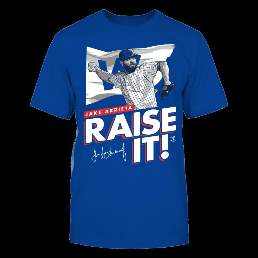 Raise It - Jake Arrieta Front picture