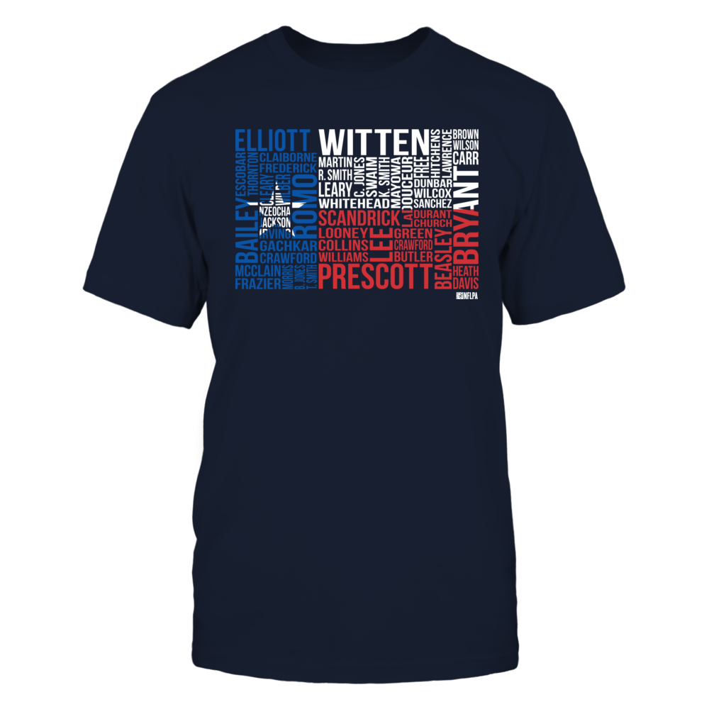 Texas State Flag Roster 2016 - Jason Witten Front picture