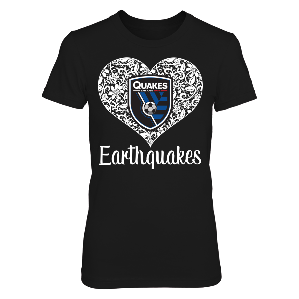 Lace Logo - San Jose Earthquakes Front picture