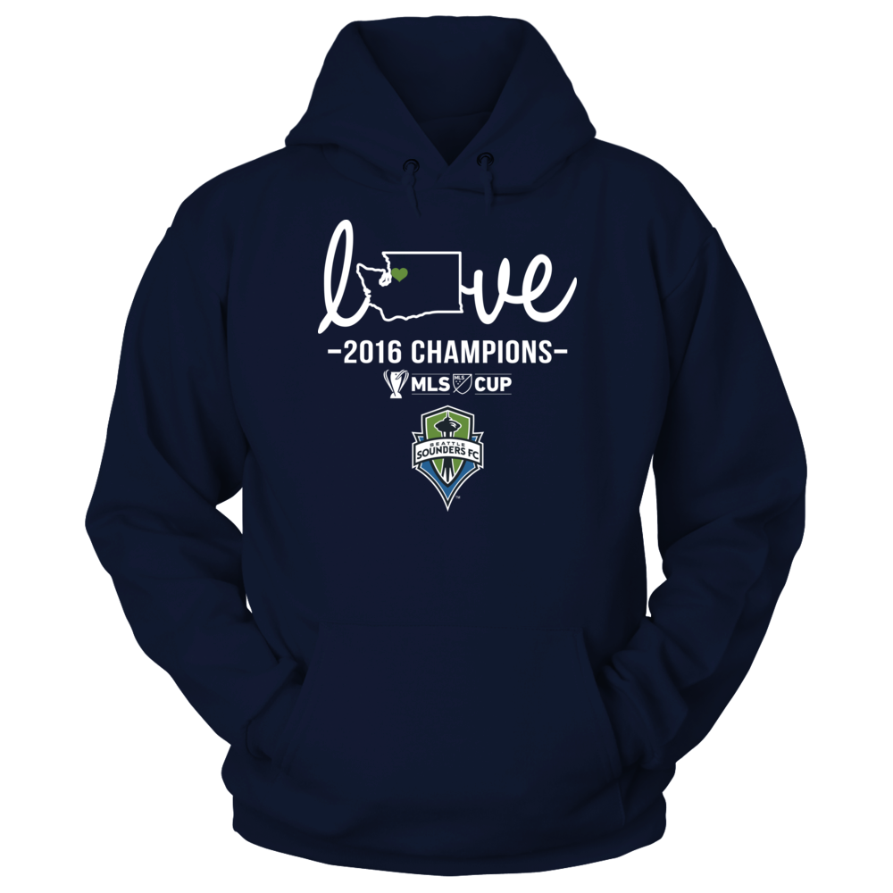 Seattle Sounders FC - State Love (2016 Championship) Front picture