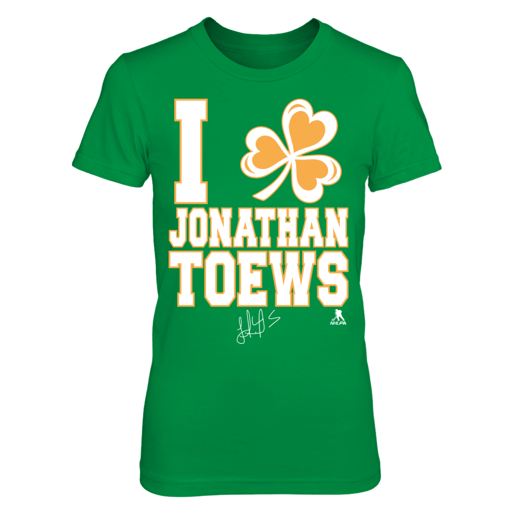 Jonathan Toews - I Shamrock Front picture