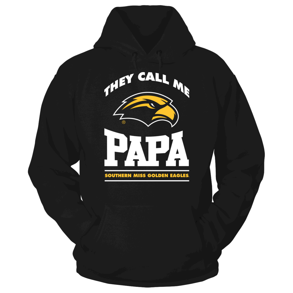 Southern Miss Golden Eagles They Call Me Papa - Southern Miss Golden Eagles FanPrint
