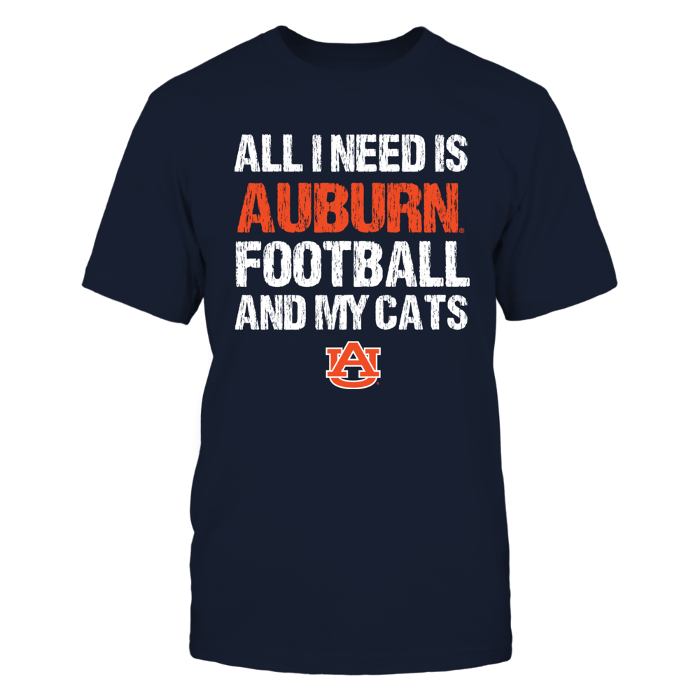 Auburn Tigers - All I Need - Football n Cats Front picture