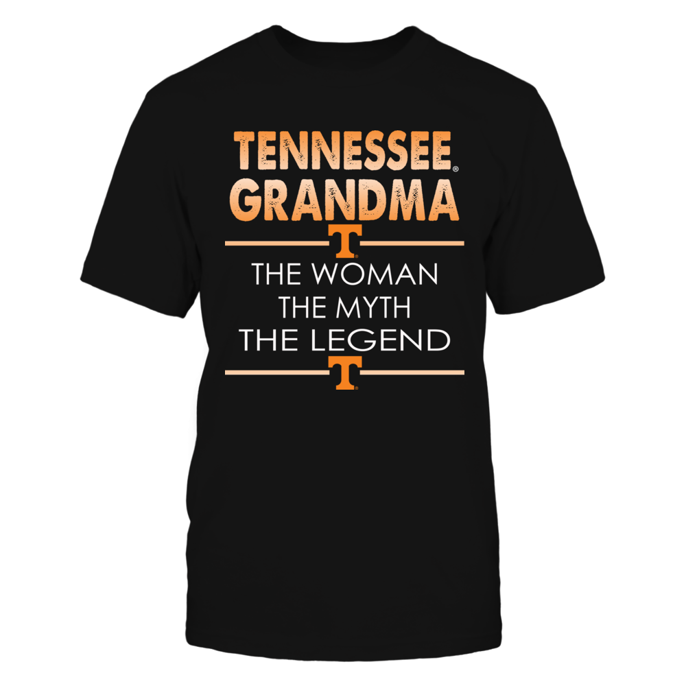 Tennessee Volunteers - Grandma Woman Myth Legend Front picture
