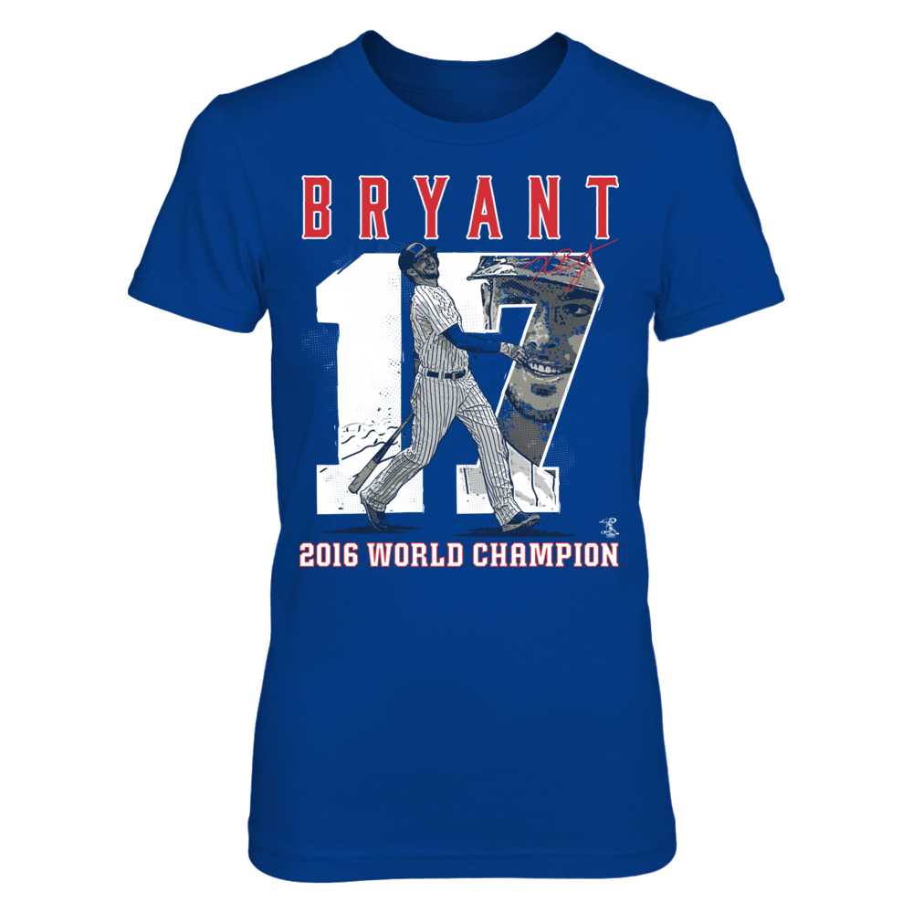 Player Number (2016 World Champion)  - Kris Bryant Front picture