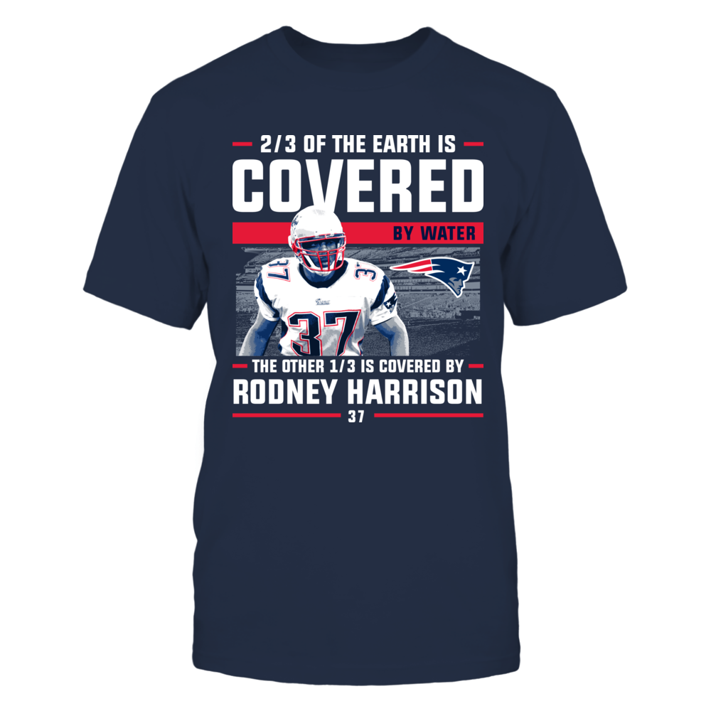 Rodney Harrison - Covered By Front picture