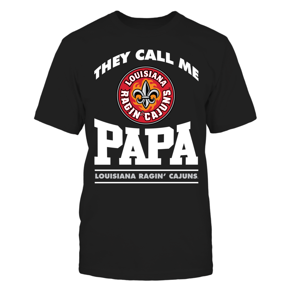 They Call Me Papa - Louisiana-Lafayette Ragin Cajuns Front picture