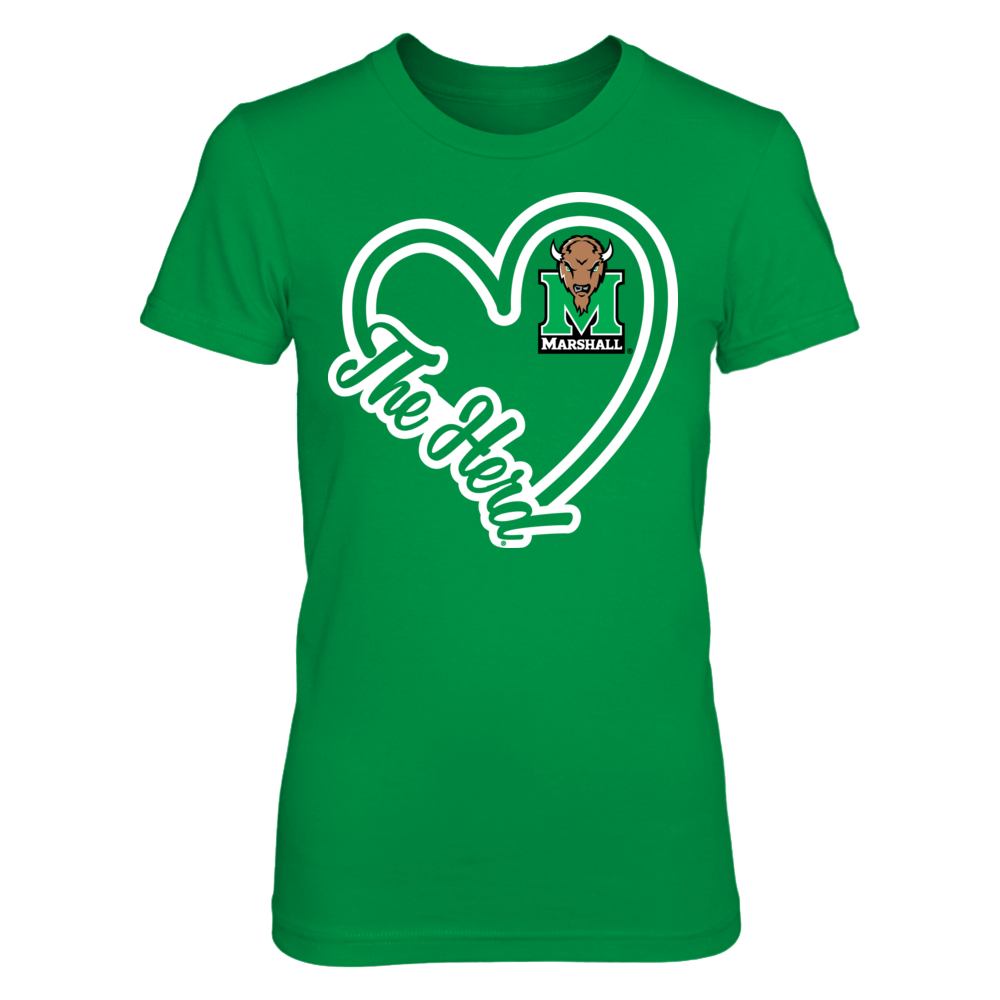 Heart Script - Marshall Thundering Herd Front picture