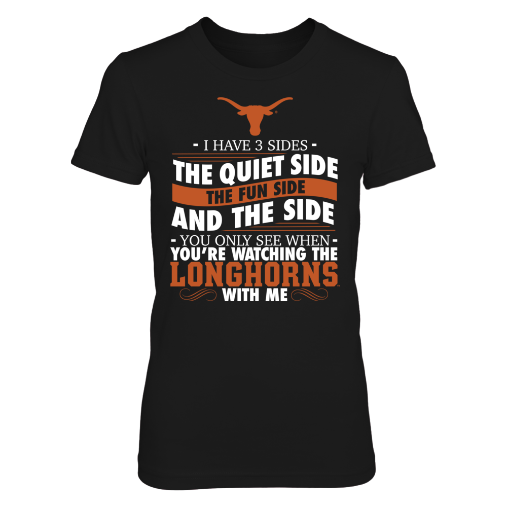 I Have 3 Sides - Texas Longhorns Front picture