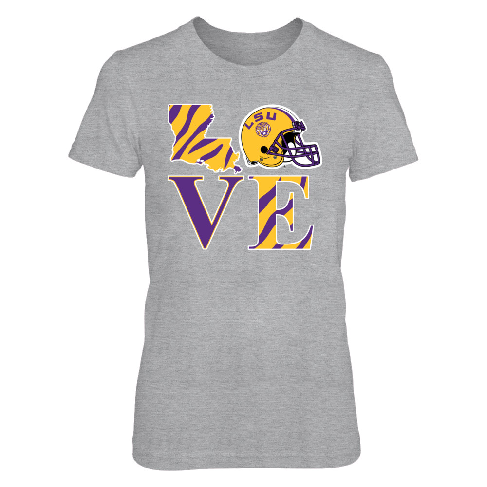 LSU Tigers LSU Love FanPrint