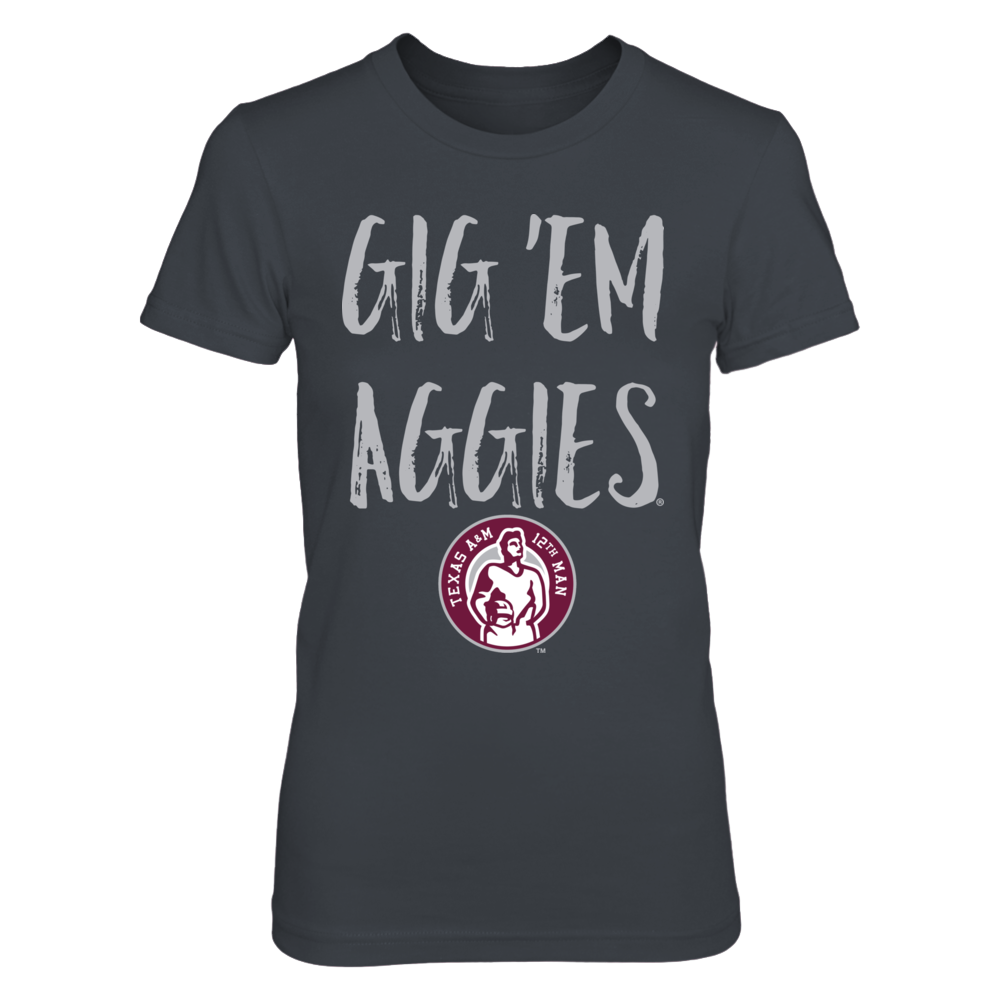 Texas A&M Aggies Officially Licensed Merchandise Gig Em Aggies 12th Man Front picture