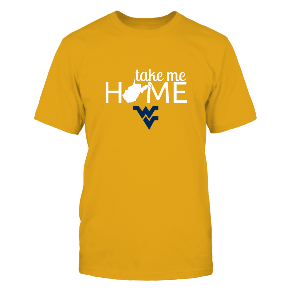TAKE ME HOME (GOLD) - WEST VIRGINIA MOUNTAINEERS Front picture