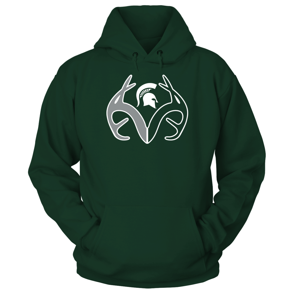 Antler Logo - Michigan State Spartans Front picture