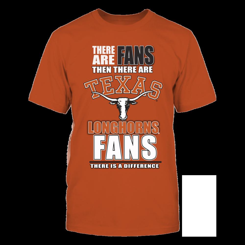 University Texas Longhorns Fans Front picture