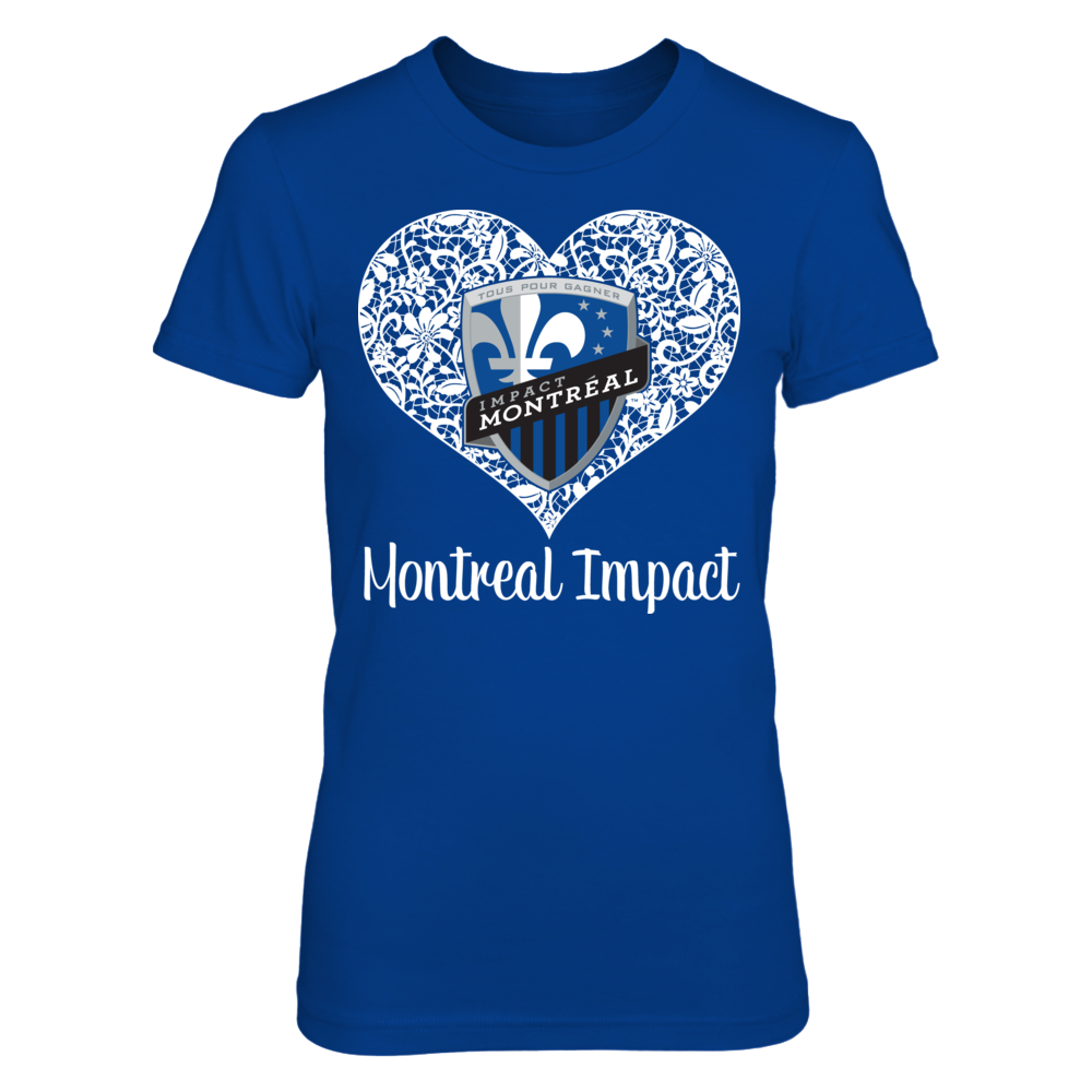 Lace Logo - Montreal Impact Front picture